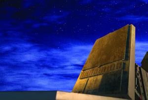 Zaawansowany radar systemu Patriot o polu widzenia 360 stopni.2